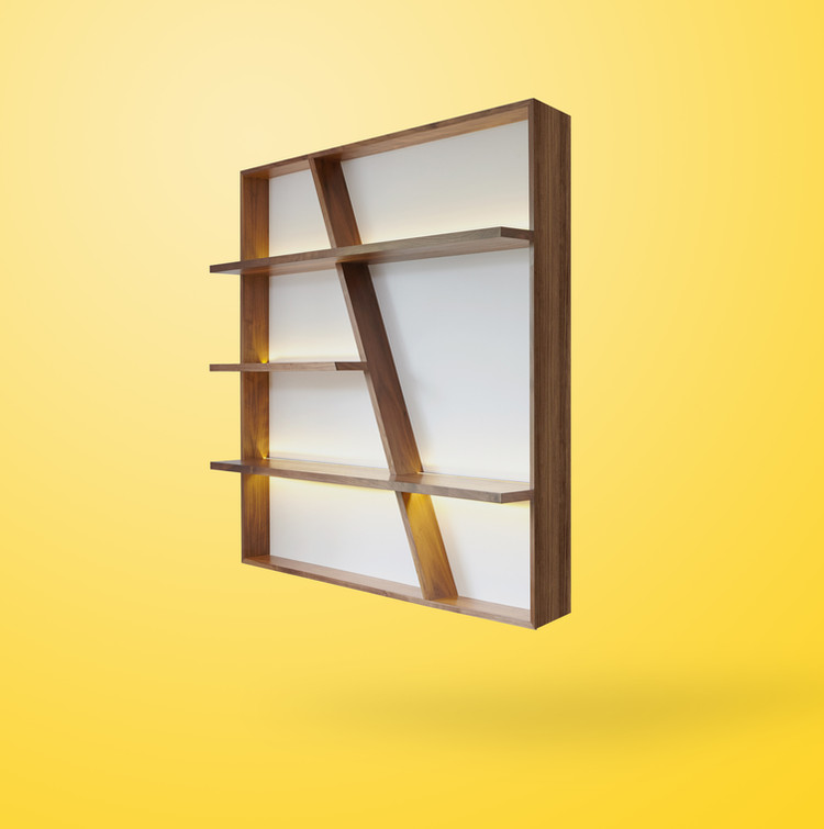 Ivar London Furniture Design Morgan Book Shelves LED