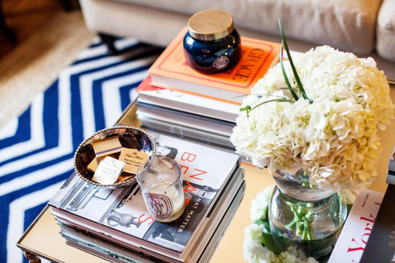 Designer's note: the coffee table