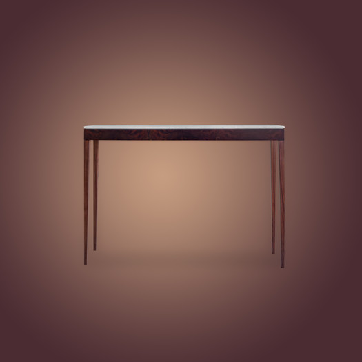 Ivar Pelham Console Table Walnut Skinny