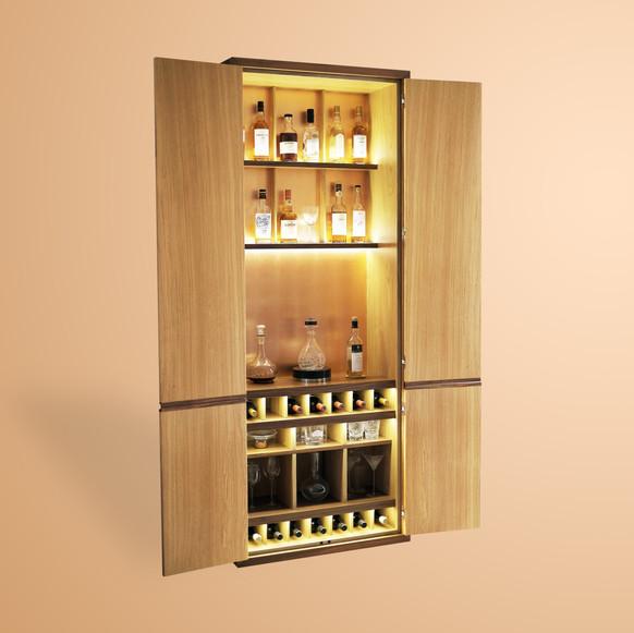 Ivar London - Will drinks cabinet