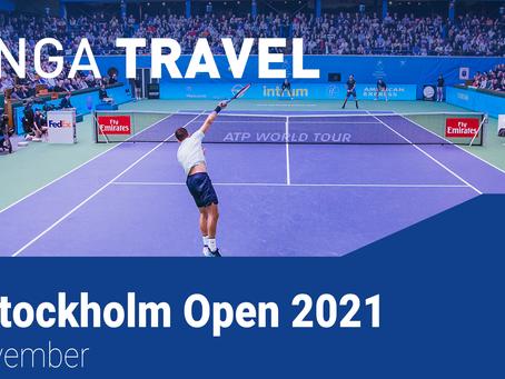 Tennistur til Stockholm Open 2021