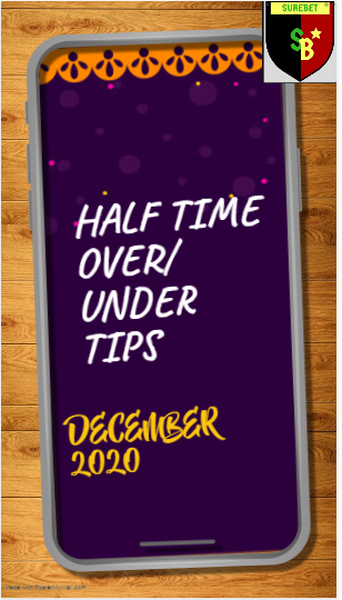 Half time tips archives December 2020