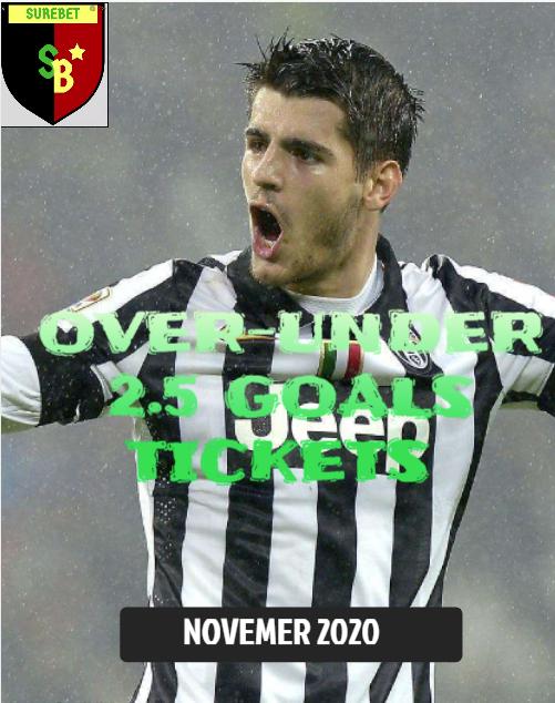 over-under 2.5 goals