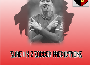 SURE 1X2 SOCCER PREDICTIONS SEPTEMBER 2020
