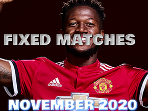 FIXED MATCHES NOVEMBER 2020