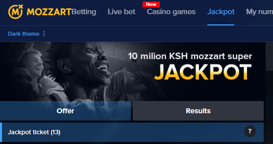 mozzart jackpot results