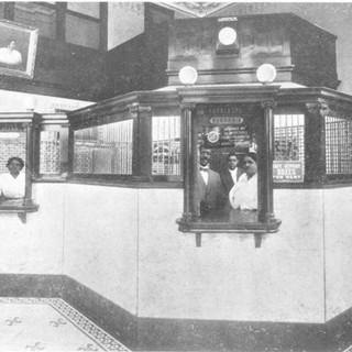 Interior of St. Luke Penny Savings Bank