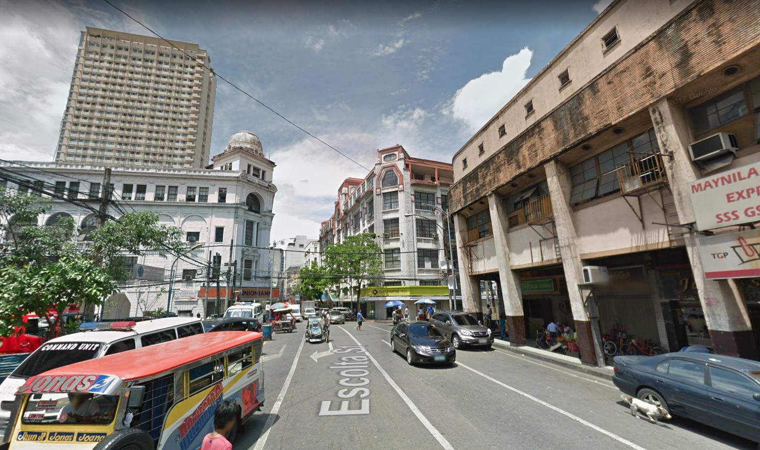 Escolta Street, Manila, Philippines, 2017