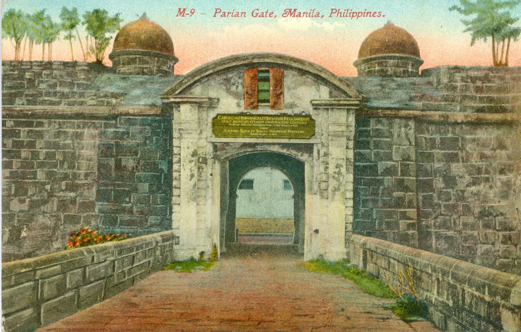 Parian Gate, Manila, Philippines (Incorrectly Named)