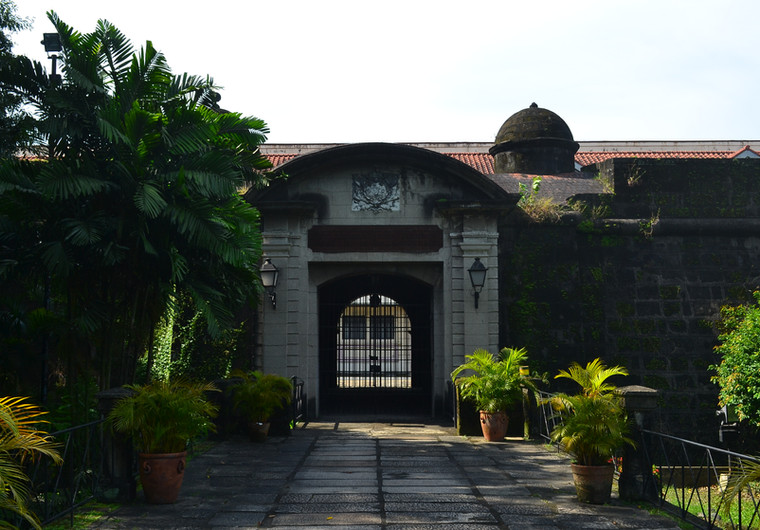 Puerta Real, Intramuros, Manila, Philippines, 2012