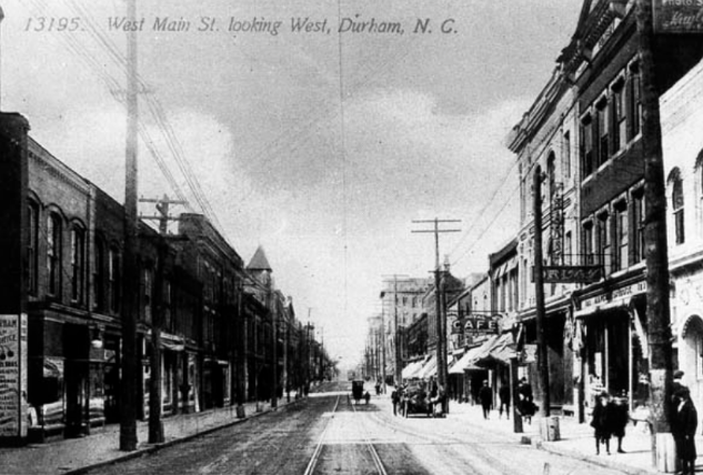Main Street trolley tracks