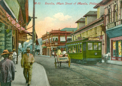 Escolta, Main Street of Manila, Philippines