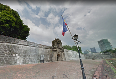 Entrance to Fort Santiago, Manila, Philippines, 2013