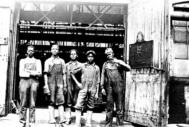 """Fairbanks Morse African American Workers  """"Fairbanks Morse African American Workers ,"""" Coming Up North: A History Harvest About Black Migration to Beloit, Wisconsin, accessed September 3, 2020"""