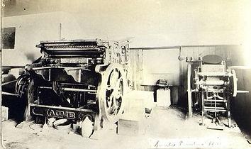 Santee printing press