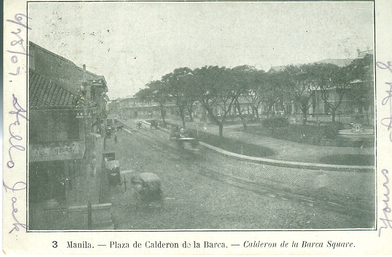 Plaza de Calderon de la Barca, Manila, Philippines