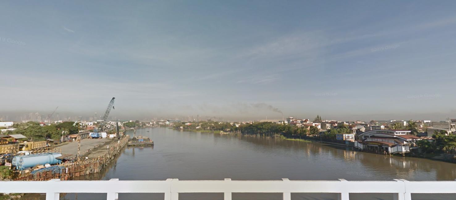 Napindan Bridge, Pasig River, Pasig, Manila