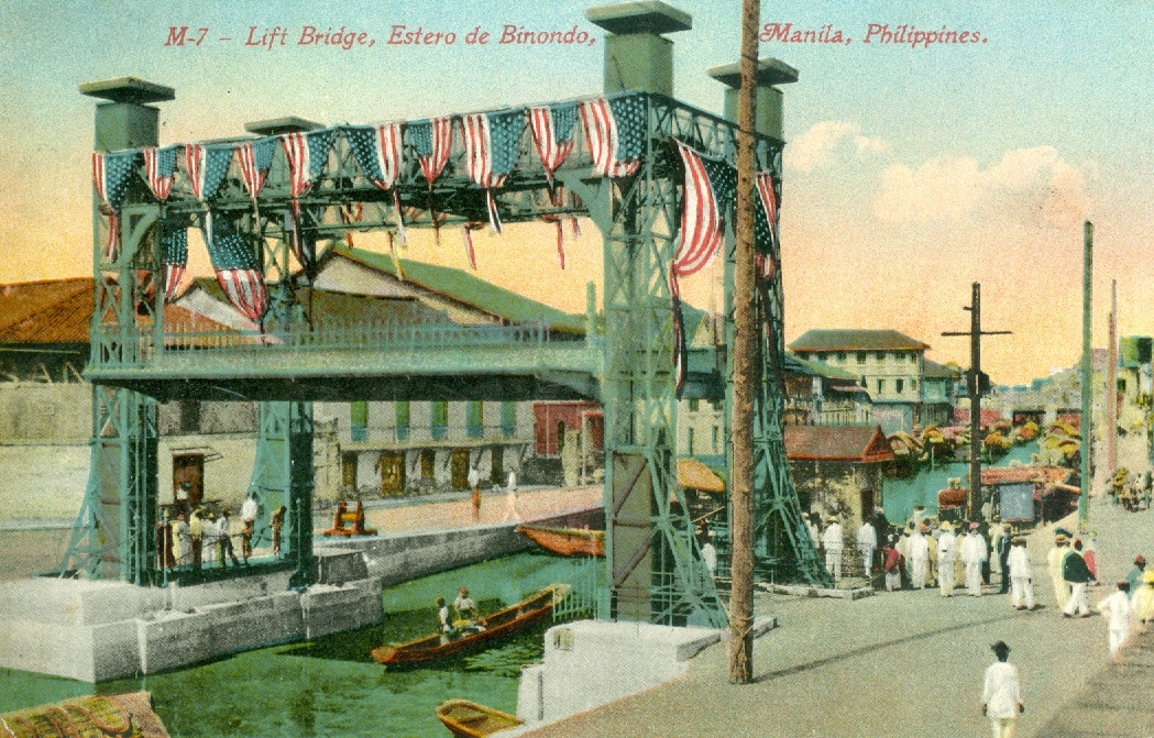 Lift Bridge, Estero de Binondo, Manila, Philippines