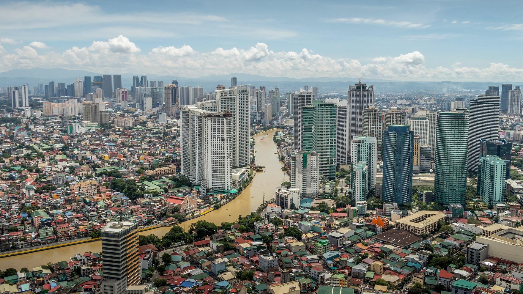 Pasig River, Metro Manila, Philippines