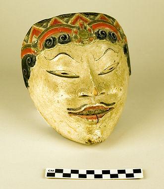 Wayang Popeng (dance-drama) mask