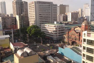 Plaza San Lorenzo Ruiz, Manila, Philippines, 2015