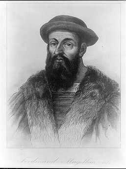 Portrait of Ferdinand Magellan, 1581; 1810; Unknown artist; Engraving