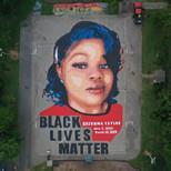 Mural of Breonna Taylor