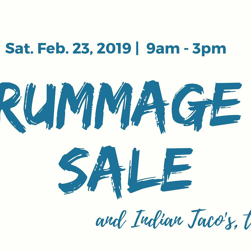 ICI Rummage Sale and Indian Taco's, too!