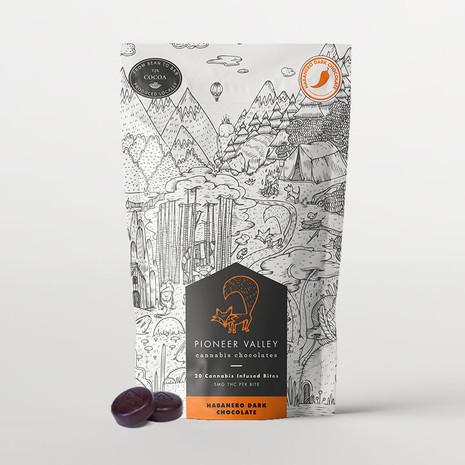 Pioneer Valley - Habanero Dark Chocolate