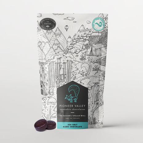 Pioneer Valley - Sea Salt Dark Chocolate