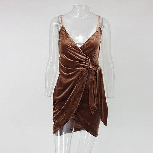 "CoyTus ""Coquette"" Velvet Dress"