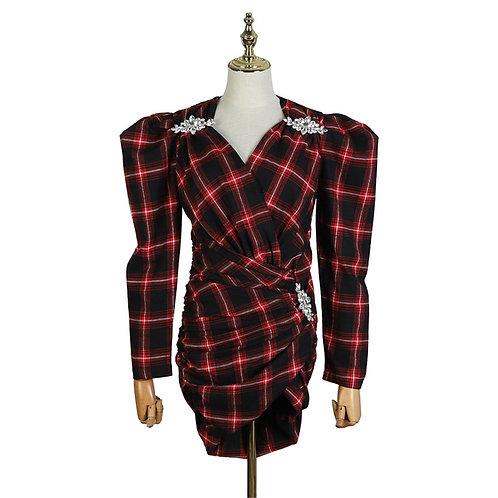 TYJC MANA FLANNEL DRESS