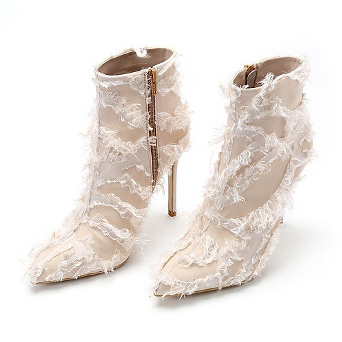 """CoyTus """"NUPTIALS"""" Ankle Boots"""