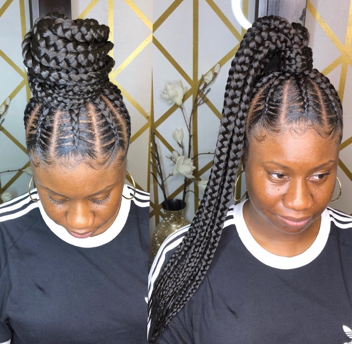 Feed-in ponytail $145 & up