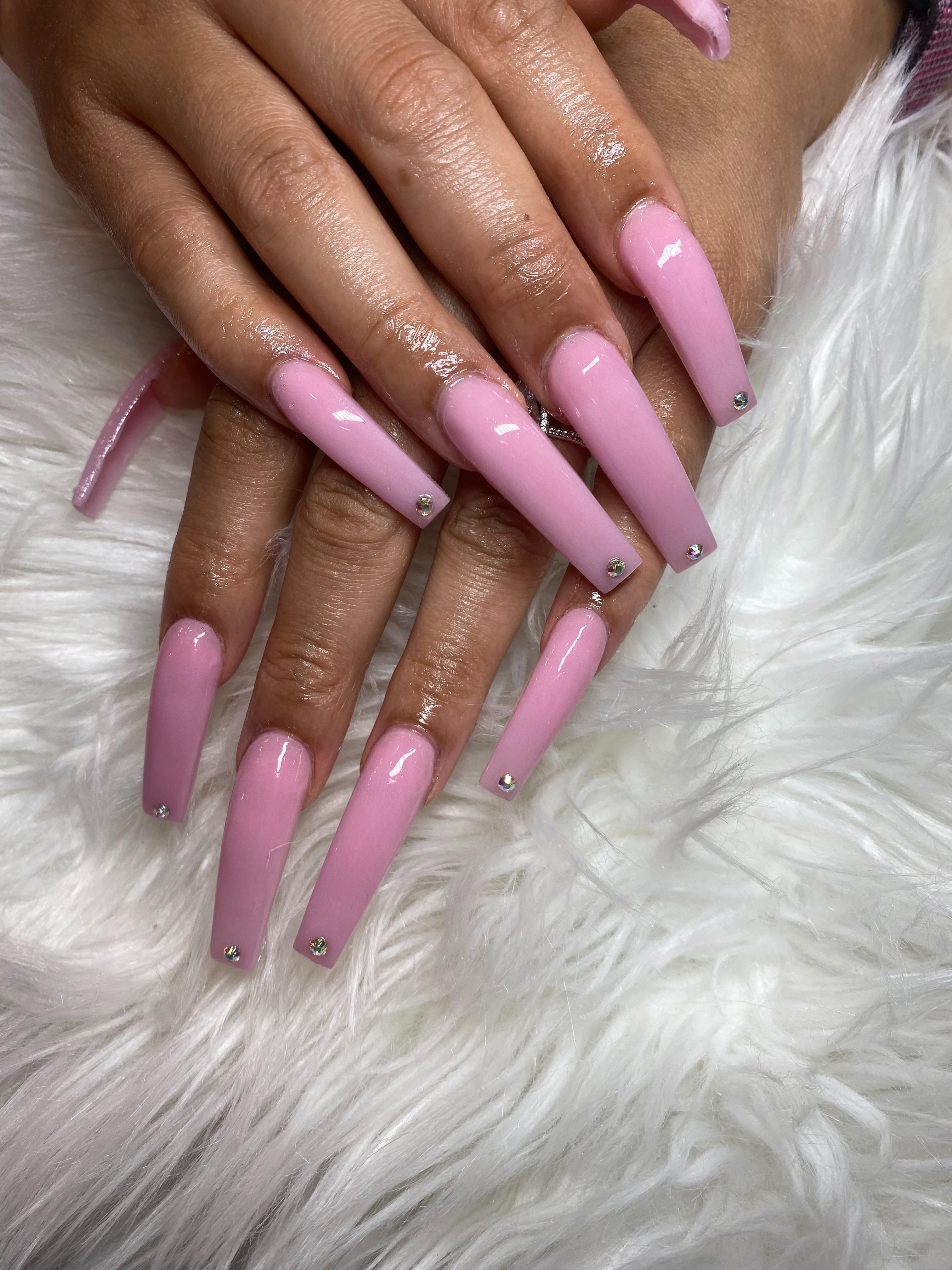 🦠COVID $55 Powder set/fill 2 bling nail