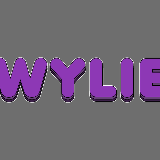 28. Bubbly Wylie Logo