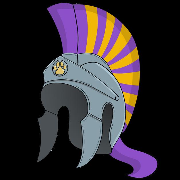 16. Bulldog Gladiator Helmet