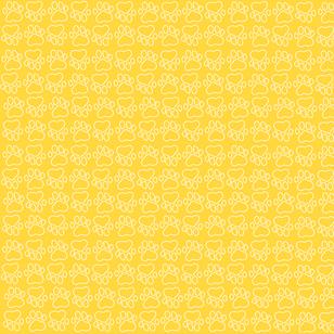 Yellow Paw Background