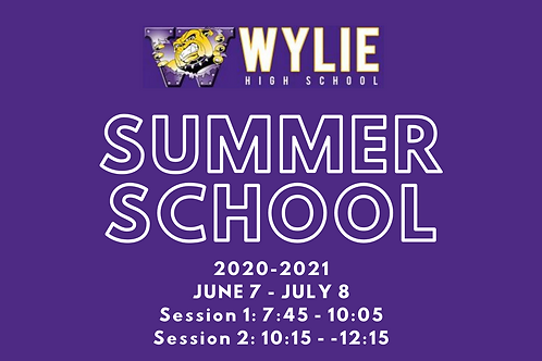 WHS Summer School Fee Per Semester