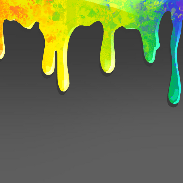 4. Melted Crayon
