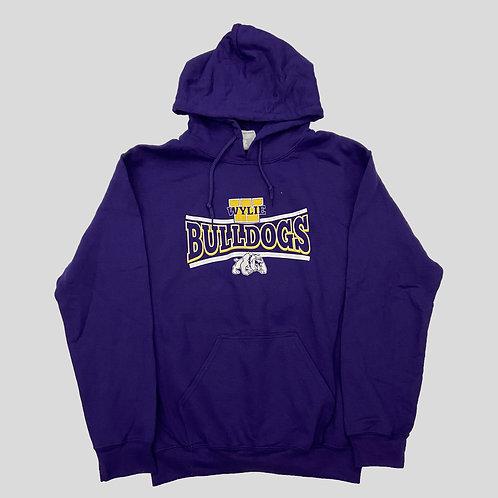 Purple Bulldog Hoodie