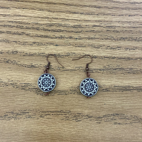 Star Stone Earrings