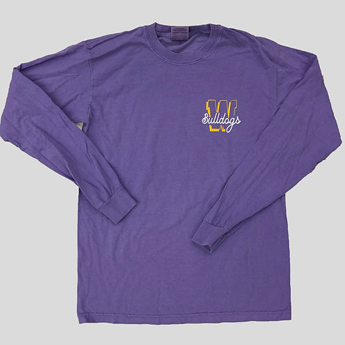 Wylie Bulldogs Pineapple Long Sleeve Shirt