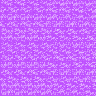 Purple Paw Background