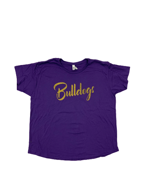 Glitter Bulldogs Short Sleeve Shirt