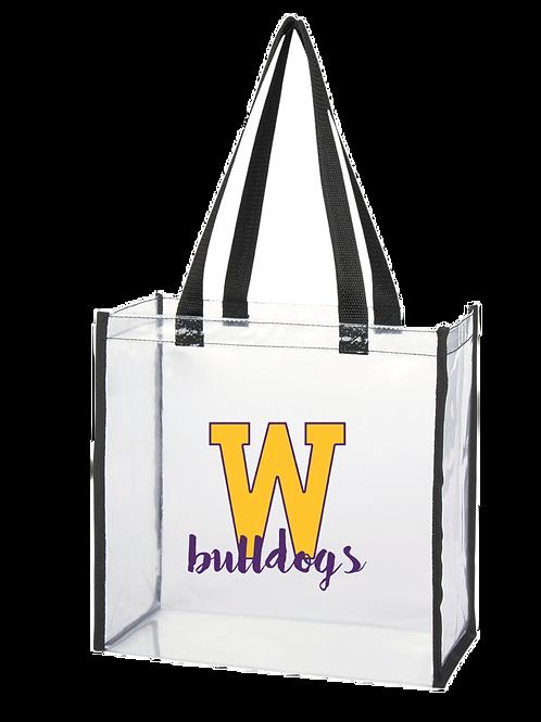Clear Stadium Bag