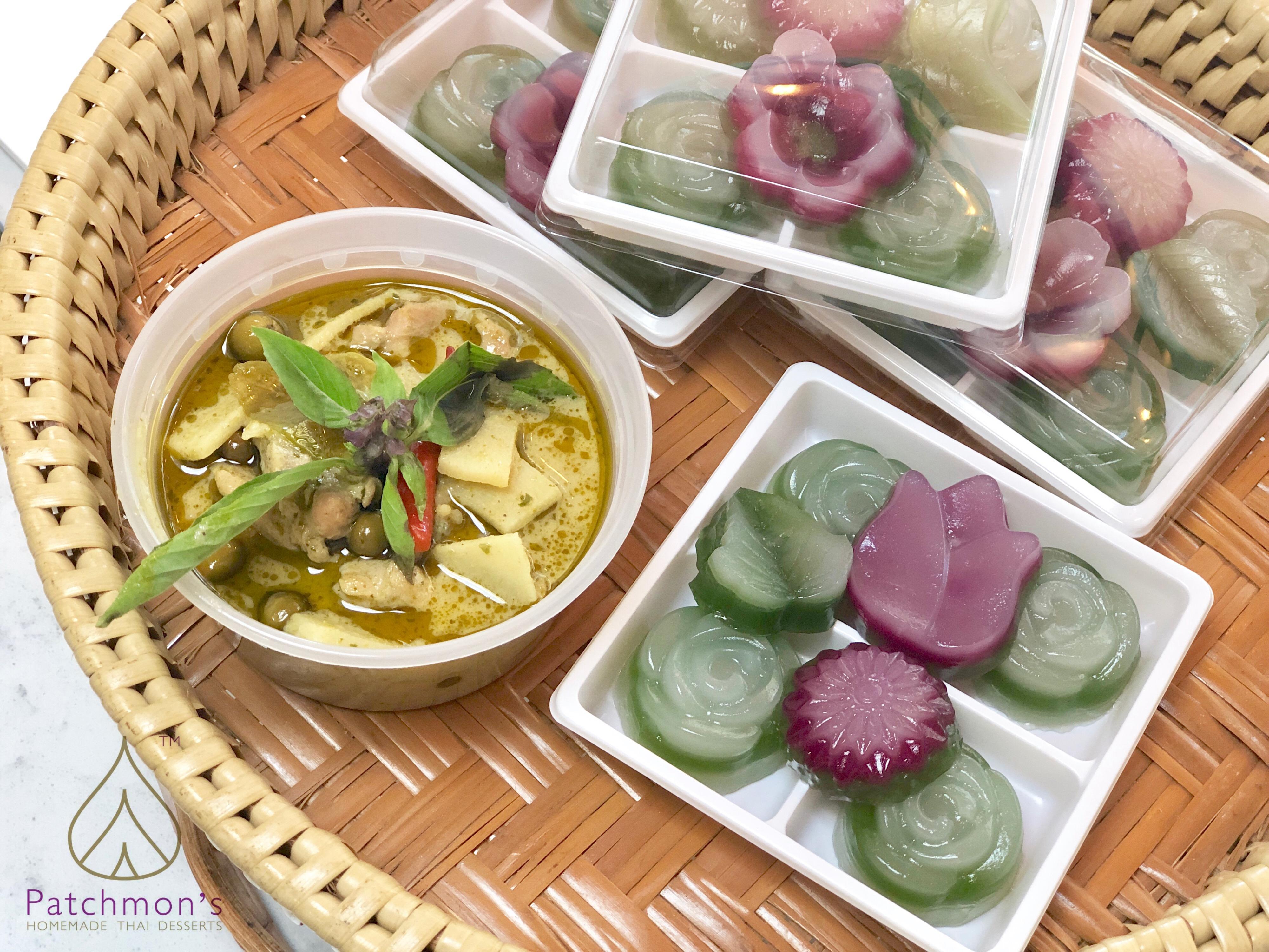 แกงเขียวหวาน & ขนมชั้น Kanom Chun
