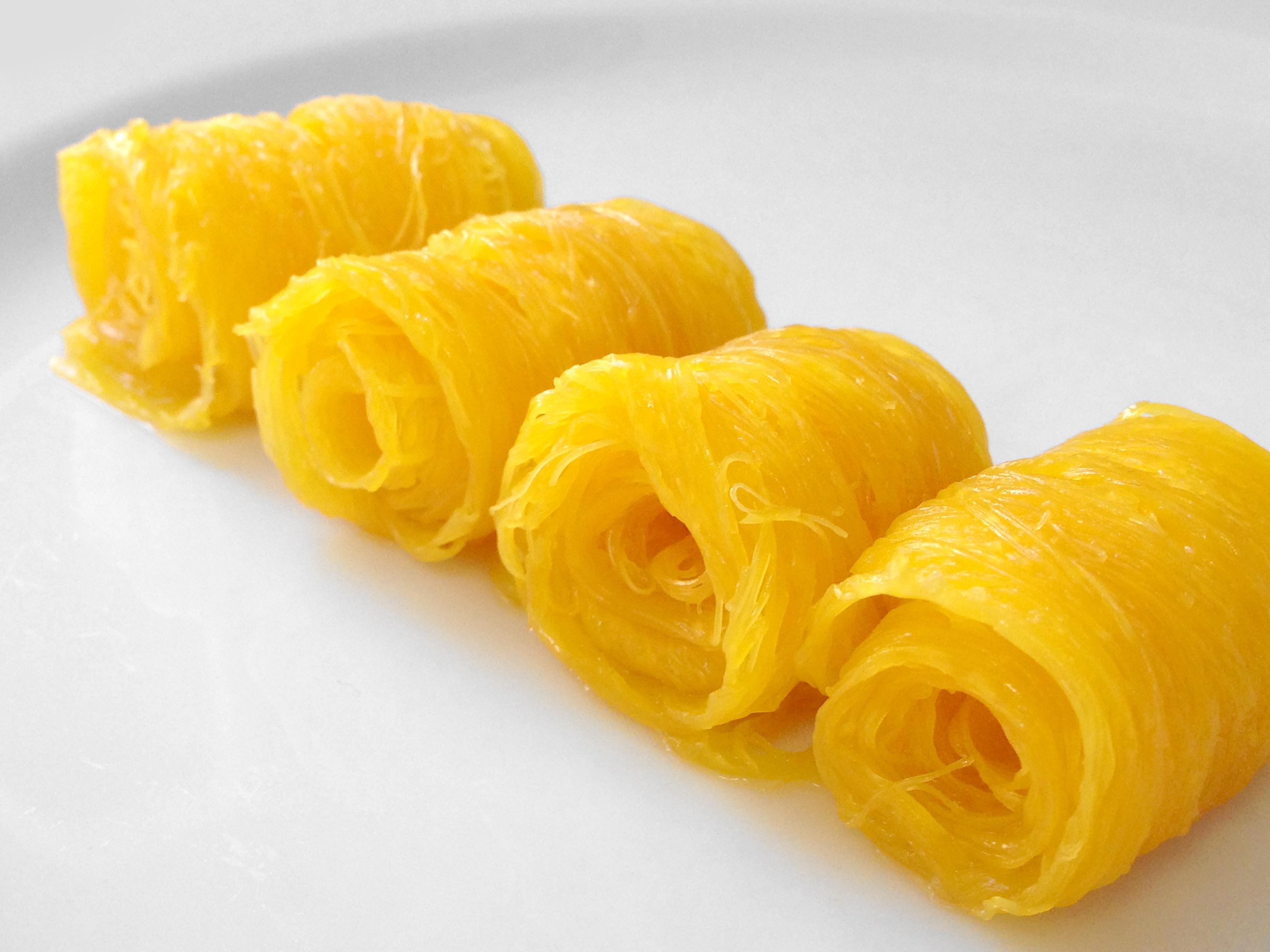 Golden Egg Yolk Threads