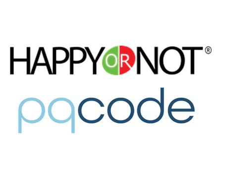 HappyOrNot announces partnership with pqCode