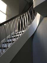 2nd floor custom stairs